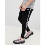 Nike Taping Skinny Fit Joggers In Black AR4912-010