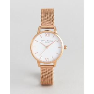 Olivia Burton OB16MDW01 Hackney mesh watch in rose gold