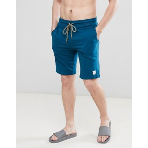 Paul Smith lounge jersey shorts in teal