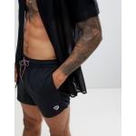 Paul Smith zebra logo swim shorts in black