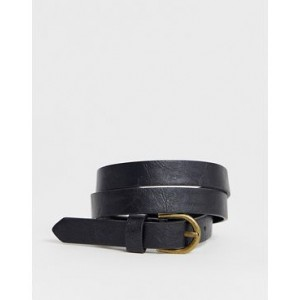 Pieces curved buckle waist and hip belt
