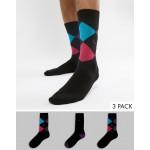 Pringle 3 pack gift set socks