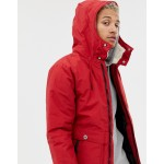Pull&Bear padded jacket in red