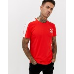Puma Archive T7 Muscle Fit T-Shirt In Red 57501542