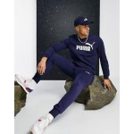 Puma Essential Skinny Joggers In Navy 85175306