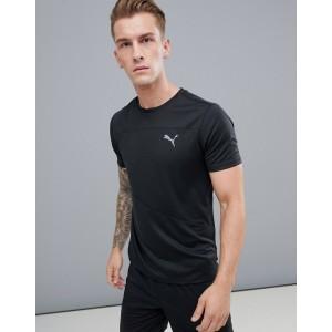 Puma Running Mono T-Shirt In Black 517242-01