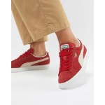 Puma Suede Classic+ Red Sneakers