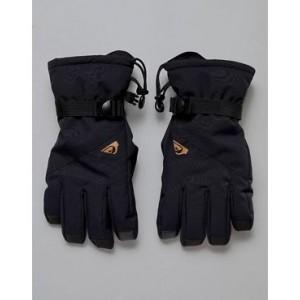 Quiksilver Mission ski gloves in black
