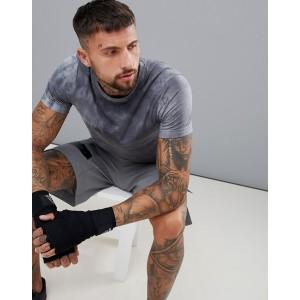 Reebok Combat Dye T-Shirt In Gray