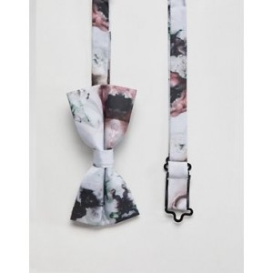 Religion bow tie in floral print