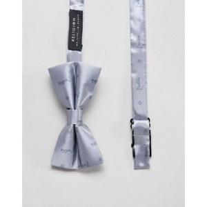 Religion bow tie in silver