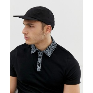 River Island cap in black