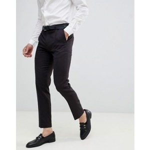 River Island skinny fit suit pants in dark purple