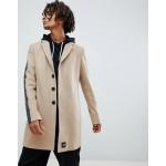 Sixth June overcoat coat in stone