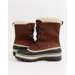 SOREL Caribou premium snow boots in brown