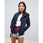 Superdry down padded jacket with hood