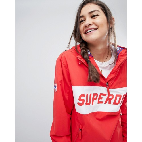 Superdry Skater Logo Pullover Windbreaker