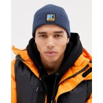 SWEET SKTBS X Helly Hansen Beanie with Logo Patch in Navy