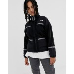 The North Face 92 Rage full zip fleece in black recycled polyester