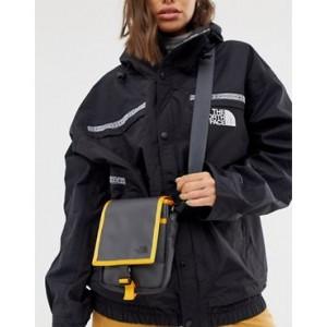The North Face Bardu cross body bag in gray/orange