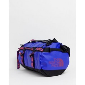 The North Face Base Camp duffel bag extra small 31 litres in geo-tribal blue