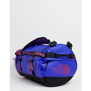The North Face Base Camp duffel bag small 50 litres in geo-tribal blue