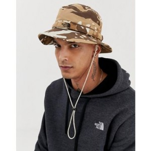 The North Face Class V Brimmer hat in camo