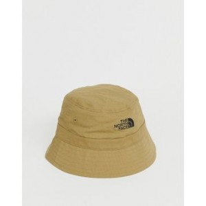 The North Face Cotton Bucket hat in stone