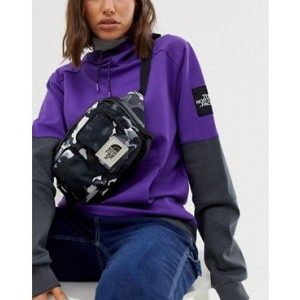 The North Face Kanga fanny pack in black recycled polyester