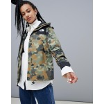 The North Face Womens 1990 Mountain Jacket GTX in Macrofleck Print