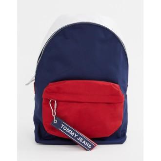 Tommy Jeans logo tape medium backpack