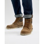 TOMS Ashland waterproof lace up boots in brown