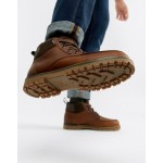 TOMS Hawthorne waterproof lace up boots in brown