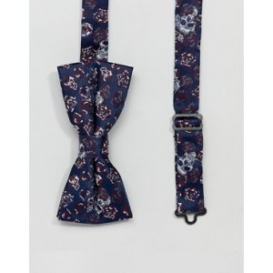 Twisted Tailor bow tie with skull jacquard