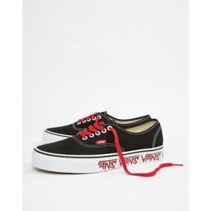 Vans Authentic Sneakers In Black VA38EMQ6D