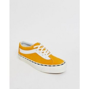 Vans Bold sneakers with side tape in yellow