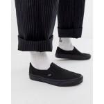 Vans Classic Slip-On plimsolls in black