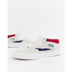 Vans Half Cab sneakers in white VA348EQKN