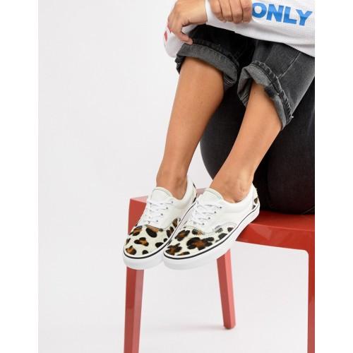 반스 Vans Leopard Print Era Sneakers