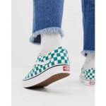 Vans Old Skool checkerboard sneakers in green