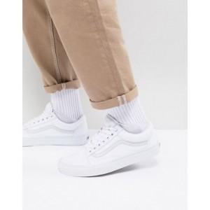 Vans Old Skool sneakers in white