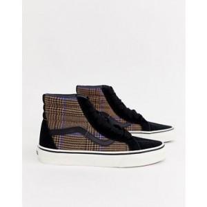 Vans SK8-Hi check sneakers