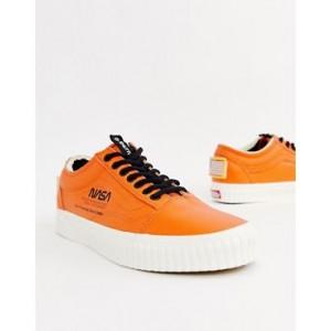 Vans x Space Voyager Old Skool sneakers in orange VN0A38G1UPA1