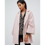 Vila Oversized Coat With Wide Sleeves