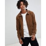 Volcom domjohn corduroy jacket in brown