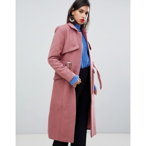 Y.A.S Belted Wool Coat