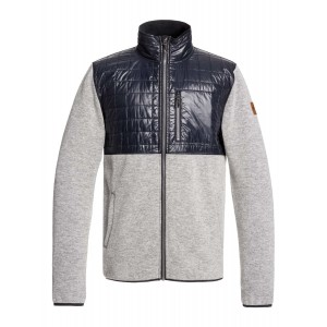 Into The Wild Technical Zip-Up Mock Neck Fleece