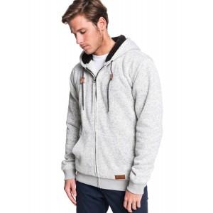 Keller Sherpa Hooded Zip-Up Sherpa-Lined Fleece