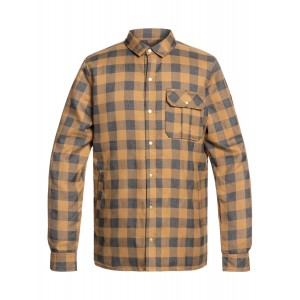 Wildcard Flannel Reversible Water-Resistant Padded Overshirt
