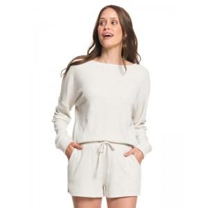 Forbidden Summer Cozy Rib Knit Sweat Shorts